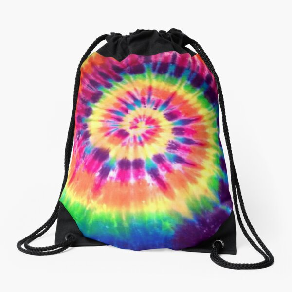 Tie Dye Drawstring Bag
