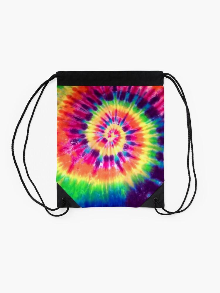 Alternate view of Tie Dye Drawstring Bag
