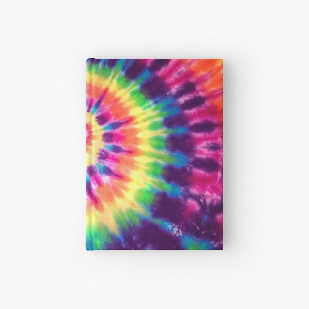 Tie Dye Hardcover Journal
