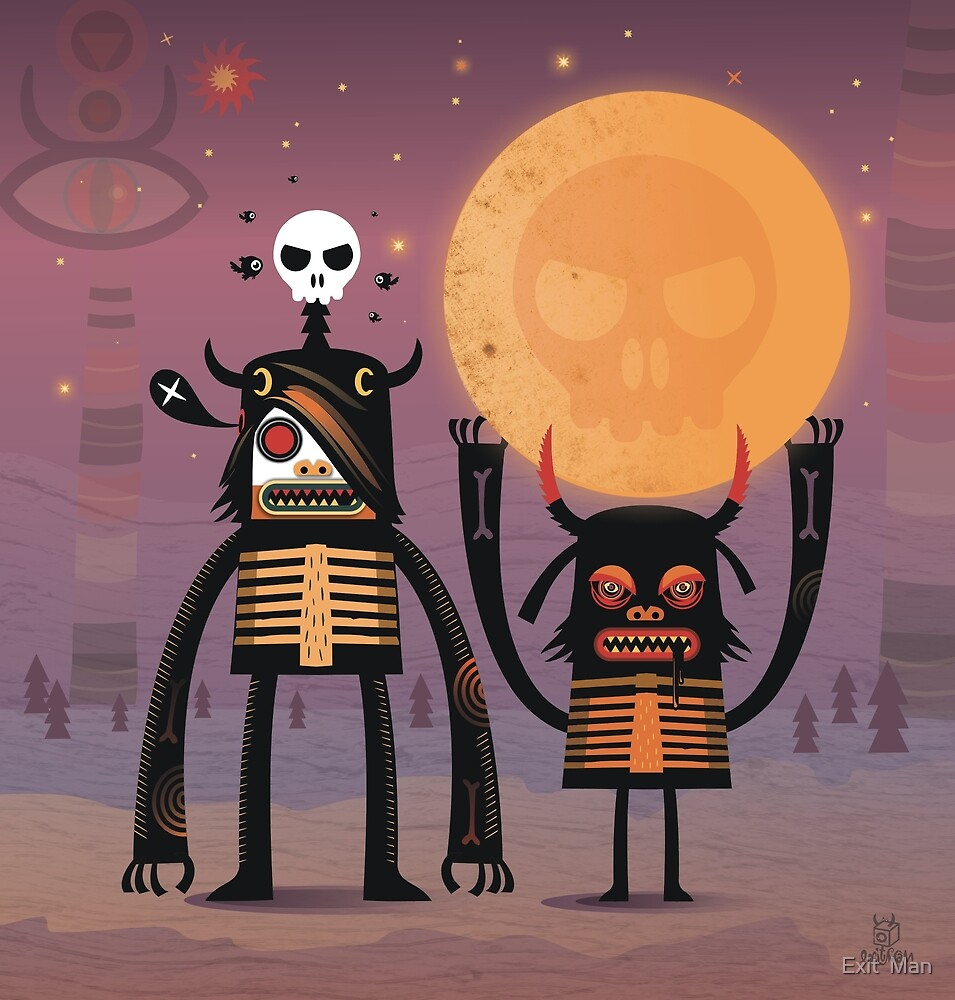 Moon catcher brothers  by Exit  Man