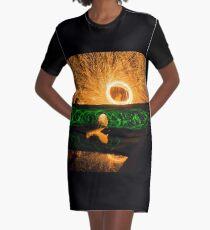 The Secret Show Graphic T-Shirt Dress