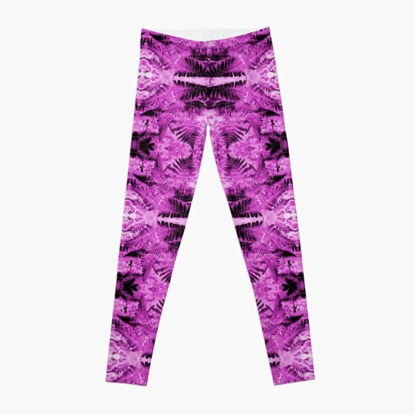 Ferns 2B Fractal Leggings