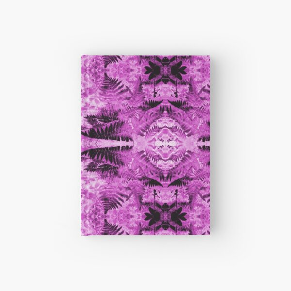 Ferns 2B Fractal Hardcover Journal