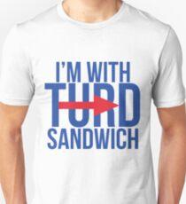 I'm With Turd Sandwich - South Park Unisex T-Shirt
