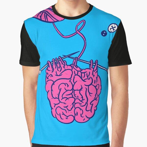 Knitting a brain Graphic T-Shirt