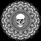 Skull Motif Mandala by WelshPixie