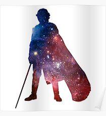 Anakin Skywalker Galaxy Poster