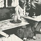 The Absinthe drinker von catFreud