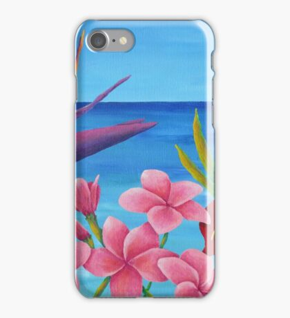 TROPICAL VIEW iPhone Case/Skin