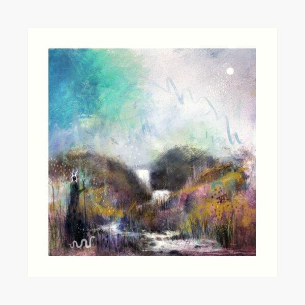 Wætergefealla - Waterfalls Art Print