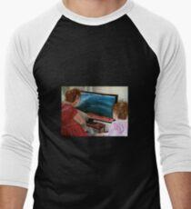 Breaking News Men's Baseball ¾ T-Shirt