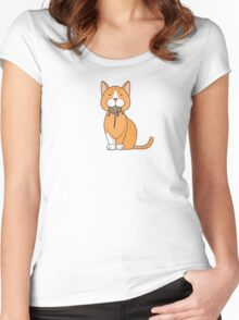 Give a rat's a*s Women's Fitted Scoop T-Shirt