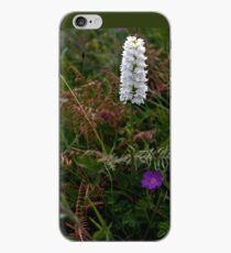 Irish White Orchid, Inishmore iPhone Case