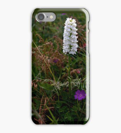 Irish White Orchid, Inishmore iPhone Case/Skin
