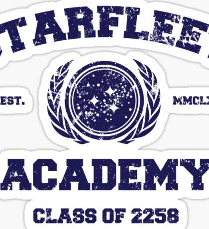 Starfleet Acadmey Class of 2258 Sticker