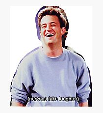 Chandler Bing Friends TV Photographic Print
