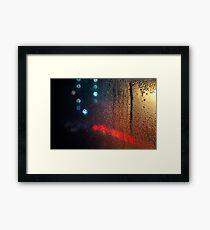 Time Passes - London Lights Framed Print