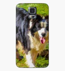 Border Collie - Color Case/Skin for Samsung Galaxy