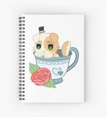 England Neko Spiral Notebook