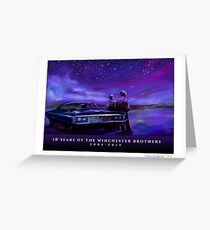 Impala Nights Greeting Card