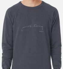 Profile Silhouette Lotus Elise - white Lightweight Sweatshirt