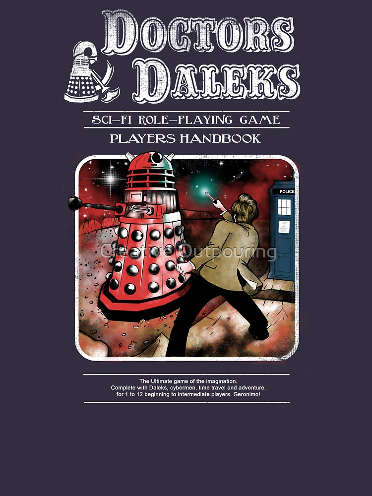 Doctors & Daleks | Women's T-Shirt