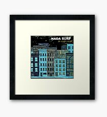 nada surf the weight is a gift posters dolly Framed Print