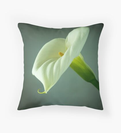 Arum Lily - From the Heart Throw Pillow