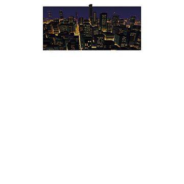 Retro City Landscape by 101Force