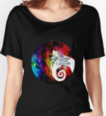 Jack Nightmare Before Christmas Moon Women's Relaxed Fit T-Shirt