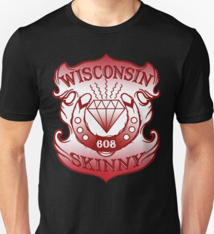 Wisconsin Skinny Shield T-Shirt