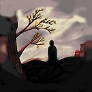 Dark Forest Scene by TinyThreadThing
