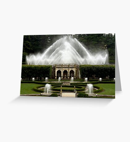 Waterworks Greeting Card