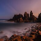 Moondance - Pinnacles  Phillip Island by Mark Shean