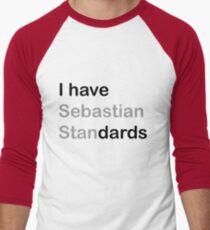 I HAVE (sebastian) STANDARDS Men's Baseball ¾ T-Shirt