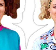Retro Sisters Sticker