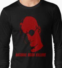 Natural Born Killers - Mickey Knox - Red Long Sleeve T-Shirt