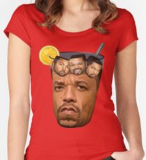 Ice Tea & Ice Cubes Women's Fitted Scoop T-Shirt