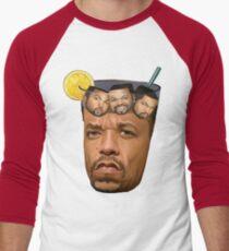 Ice Tea & Ice Cubes Men's Baseball ¾ T-Shirt