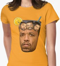 Ice Tea & Ice Cubes Women's Fitted T-Shirt