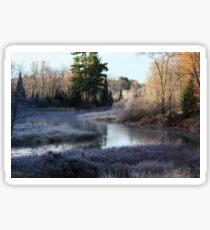 Wisconsin River Sticker