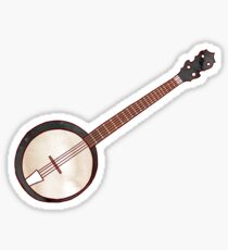Jazzy ABC - The Banjo Sticker