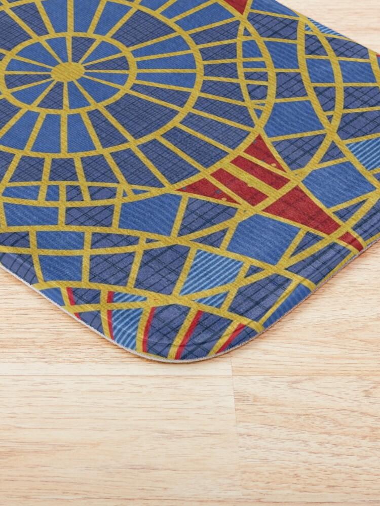 Alternate view of DragonCon Marriott carpet: with details Bath Mat