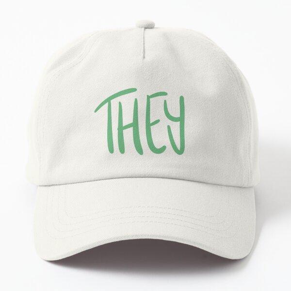 THEY, v5, light green/green Dad Hat