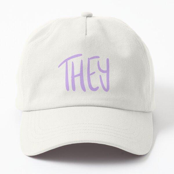 THEY, v5, lavender/dark purple Dad Hat