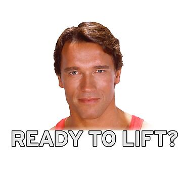 Arnold Schwarzenegger - Ready to Lift? by SpiderReviewer