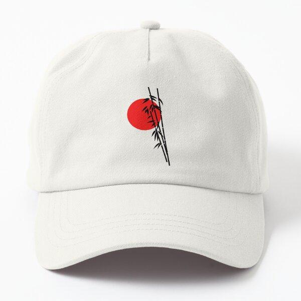 Bamboo and Japan Flag T-Shirts. Dad Hat