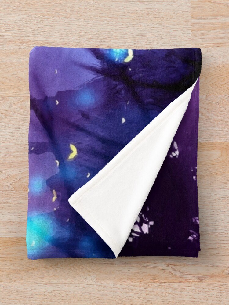 Alternate view of Aphmau Minecraft Magical Fairy  Throw Blanket