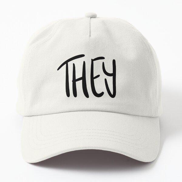 THEY, v5, black/white Dad Hat