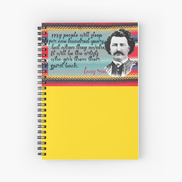 Riel Quote Artist Spiral Notebook
